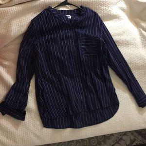 Striped button down old navy shirt. New with tag.